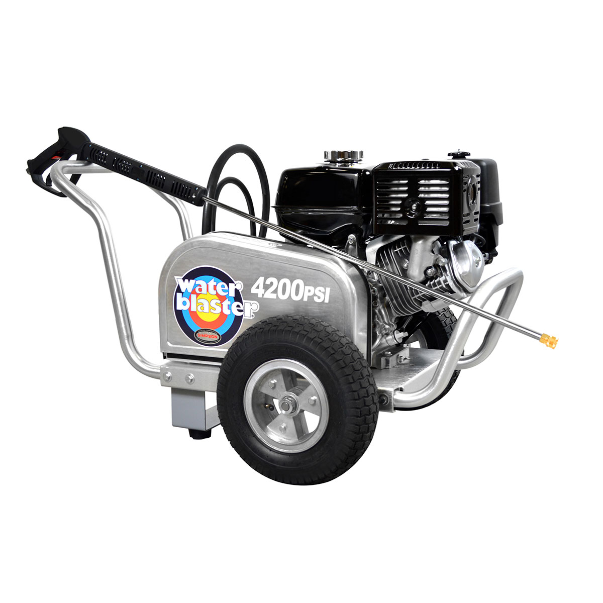 4200 PSI Aluminum Series - Commercial Direct Drive Pressure Washer with a Honda GX 390 engine and a 50' hose - ALWB60828