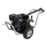 4400 PSI Water Blaster Series - Commercial Belt Drive Pressure Washer with a SIMPSON 420 engine and a 50' hose - WB6024