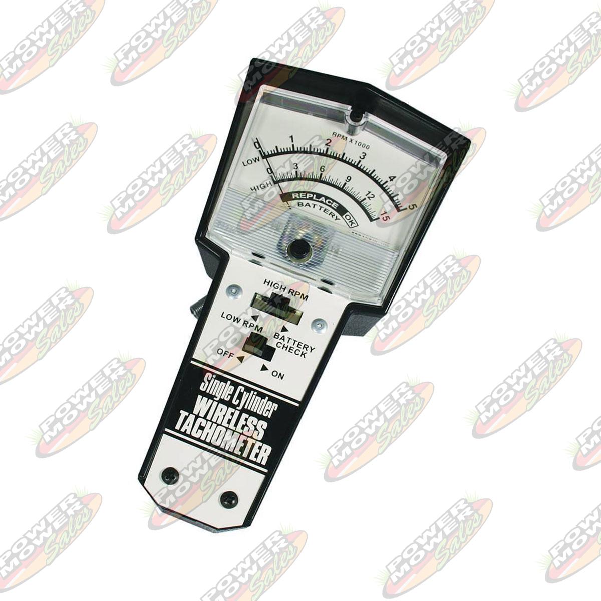 Wireless Tachometer Power Mower Sales