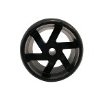Wright 5 inch Spherical Hoosier Plastic Wheel 72490005