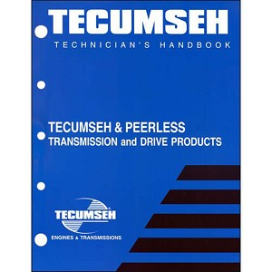 691218 Service Manual for Tecumseh and Peerless Transmission and Drive  Products