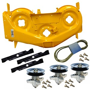 Cub Cadet RZT 50 inch Yellow Deck Kit 903-04328C-0716 903-04328C-0716-KIT