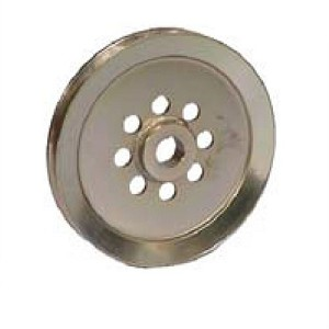 "Dixie Chopper Top Center Pulley 7.5""x.81 inch 300059"