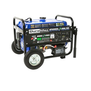 Duromax Xp5500eh 5500 Watt Electric Start Dual Fuel Hybrid Portable Generator
