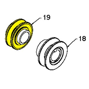 Husqvarna Pulley Assembly English Traction 1 00 532425933