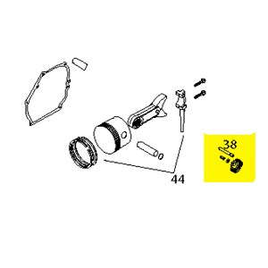 Husqvarna Governor Gear Assembly (Sk2912900) 532429292