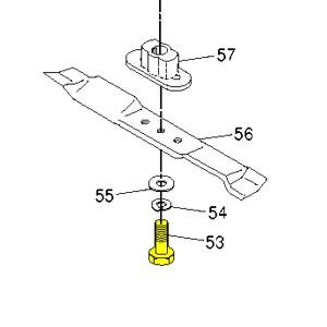 Husqvarna Screw, Hex HD 3/8-24 X 1-3/8 532851084