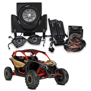 Kicker Phase 3 Complete Custom Sound System for 2018 Can-Am Maverick X3 Models - 45CX33