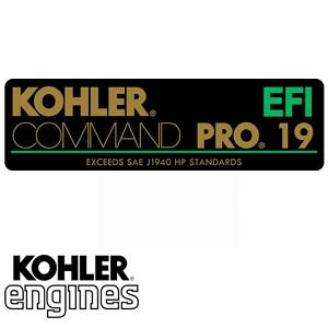 24 113 163-S ? 23 HP Kohler Label