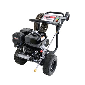 3800 PSI Powershot Series - Commercial Direct Drive Pressure Washer with a Honda GX270 engine and a 50' hose - PS3835