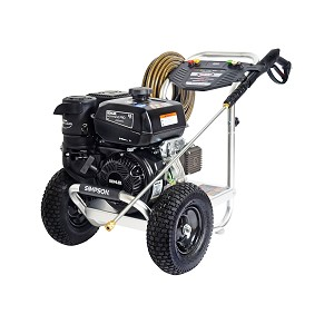 4000 PSI Aluminum Series - Commercial Direct Drive Pressure Washer with a Kohler CH395 engine and a 50' hose - ALK4033